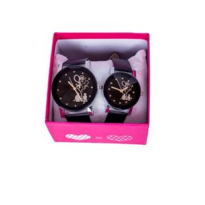 Couples watches for him and Her Gifts Waterproof classic luminous