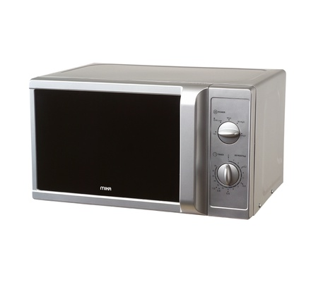 mikaMicrowave Oven, 20L, Digital Control Panel, Silver