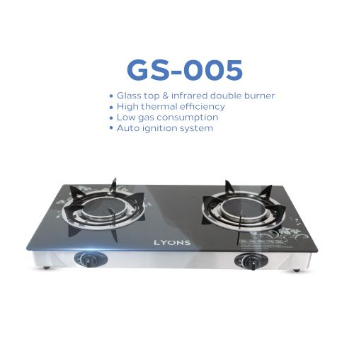 Lyons GS-005 Gas Cooker
