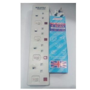 4 socket extension cable