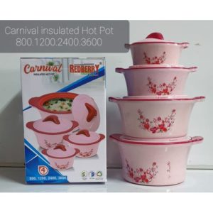 Redberry Carnival Insulated Hot Pots